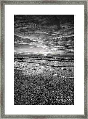 Black And White Sunset Framed Print by Eyzen M Kim
