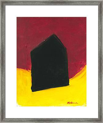 Black Arthouse Framed Print