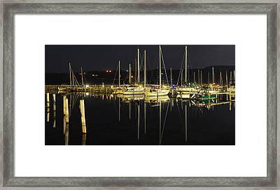 Black As Night Framed Print by Frozen in Time Fine Art Photography