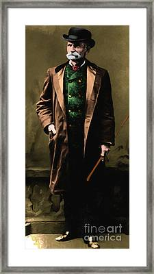 Black Bart 20130513 Long Framed Print by Wingsdomain Art and Photography