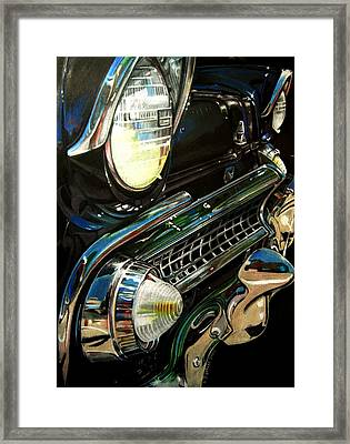 Black Beauty Framed Print by Kathleen Bischoff