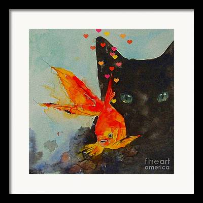 Feline Art Framed Prints