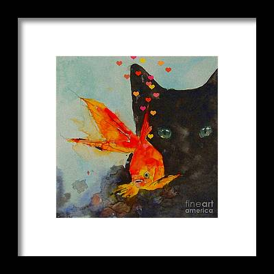 Goldfish Framed Prints