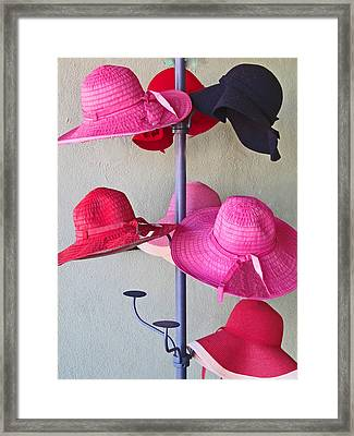 Black Chapeau Of The Family Framed Print
