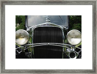 Black Chevrolet Framed Print