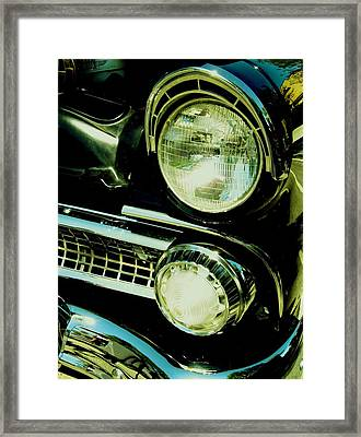 Black Classic Framed Print by Kathleen Bischoff