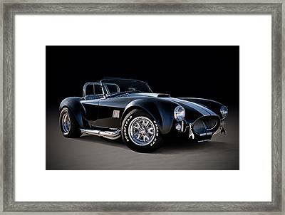 Black Cobra Framed Print