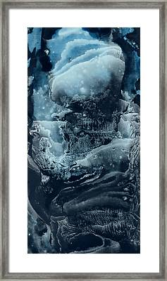 Black Corall Framed Print