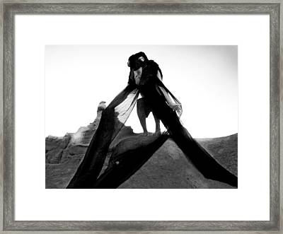 Black Crow 2 Framed Print