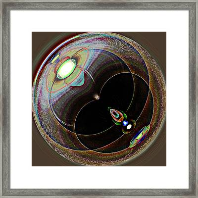 Black Eye Framed Print by Samuel Sheats