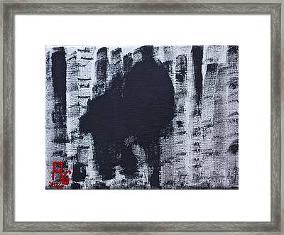 Black Forest The Recession Has Just Been Too Long - Find Your Hope At Art Framed Print by  Andrzej Goszcz