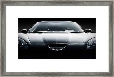 Black Grand Sport Corvette Framed Print