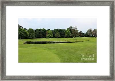 Black Hawk Golf Course Framed Print by Karen Adams