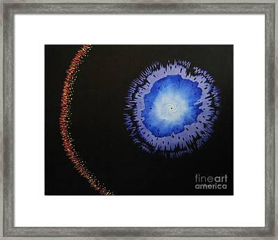 Black Hole Framed Print by Lori Ziemba