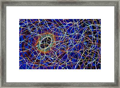 Black Hole Framed Print by Patrick OLeary