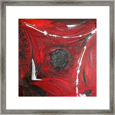 Black Hole Framed Print by Rob Van Heertum
