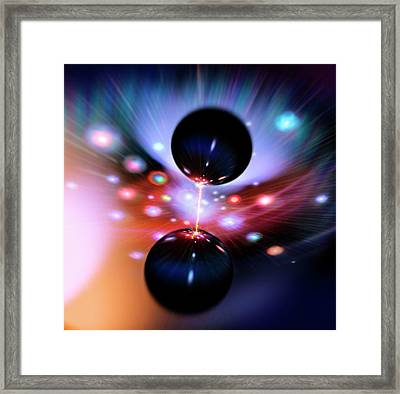 Black Hole Strangeness Framed Print by Richard Kail