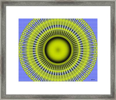 Black Hole Sun Framed Print by Brian Johnson