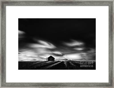 Black House Framed Print