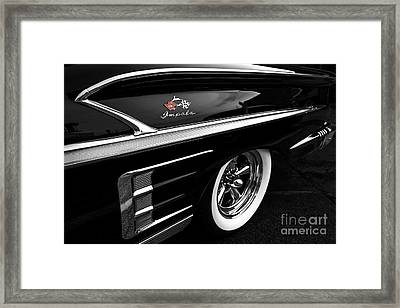 Black Impala Framed Print