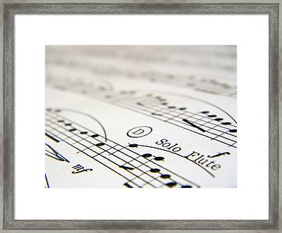 Black Is The Color Framed Print