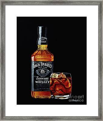 Black Jack Framed Print