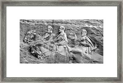 Black Jack Traveller And Little Sorrel Framed Print