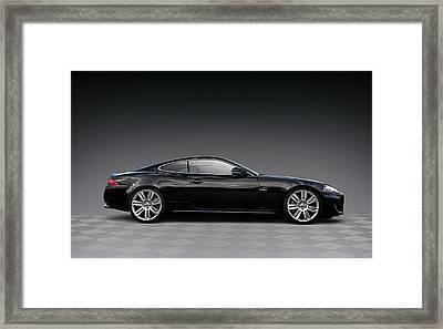 Black Jag Framed Print by Douglas Pittman