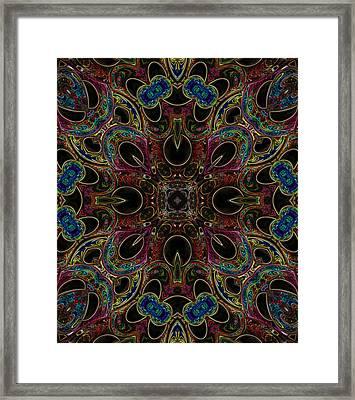 Black Light 1 Framed Print