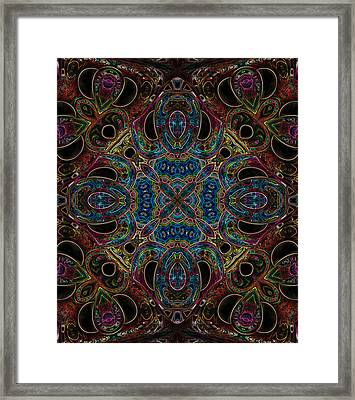 Black Light 10 Framed Print
