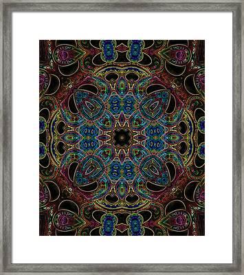 Black Light 7 Framed Print