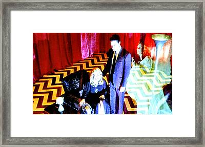 Black Lodge 2013 Framed Print by Luis Ludzska