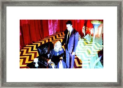 Black Lodge 2013 Framed Print