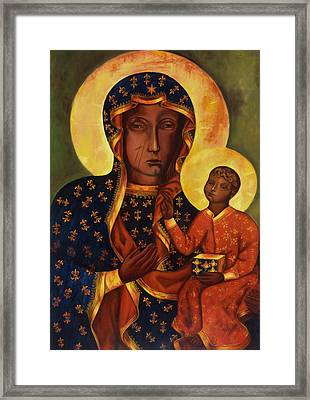 The Black Madonna Of Czestochowa Framed Print