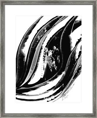 Black Magic 302 By Sharon Cummings Framed Print by Sharon Cummings