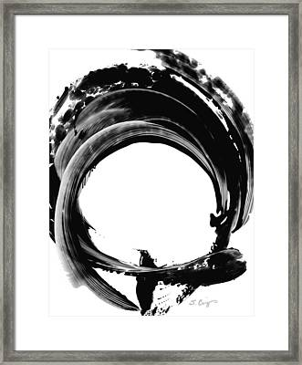 Black Magic 304 By Sharon Cummings Framed Print