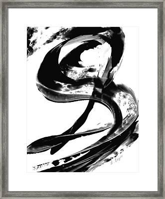 Black Magic 307 By Sharon Cummings Framed Print