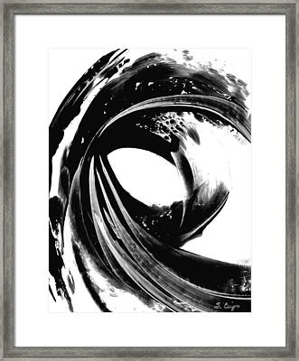 Black Magic 308 By Sharon Cummings Framed Print by Sharon Cummings