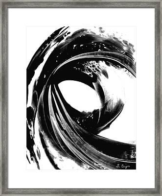 Black Magic 308 By Sharon Cummings Framed Print by Sharon Cummings