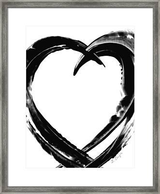 Black Magic 311 By Sharon Cummings Framed Print by Sharon Cummings