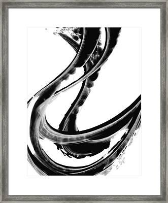 Black Magic 312 By Sharon Cummings Framed Print by Sharon Cummings