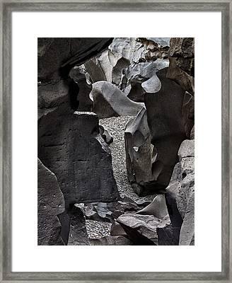 Black Magic Canyon 13b Framed Print by Leland D Howard