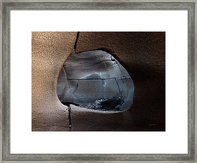 Black Magic Canyon 1b Framed Print by Leland D Howard