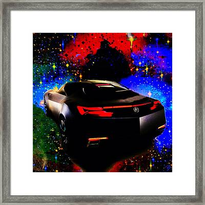 Black Magic Framed Print