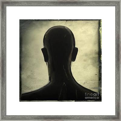 Black Mannequin Framed Print by Bernard Jaubert