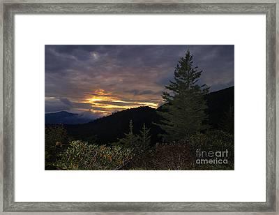 Black Mountains 3 Framed Print