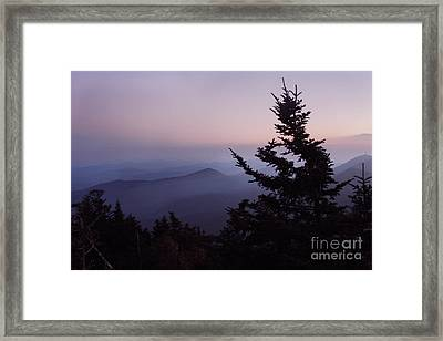 Black Mountains4 Framed Print
