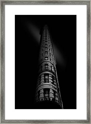 Black Noir Framed Print
