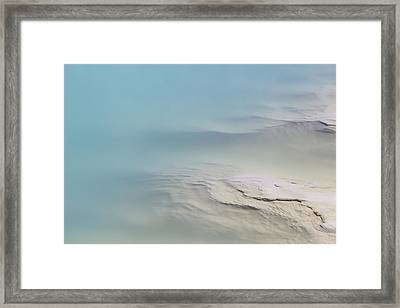 Black Opal Beauty Framed Print