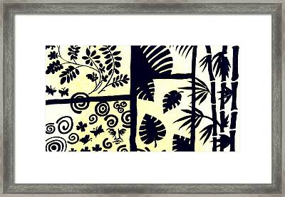 Black Or White - Wall Art Framed Print by Debajyoti BasuRay